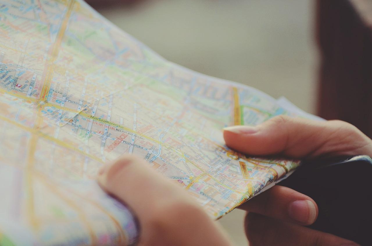 Соблюдайте выбранный маршрут
